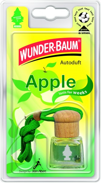 Wunderbaum Auto-Duftflakon Apple