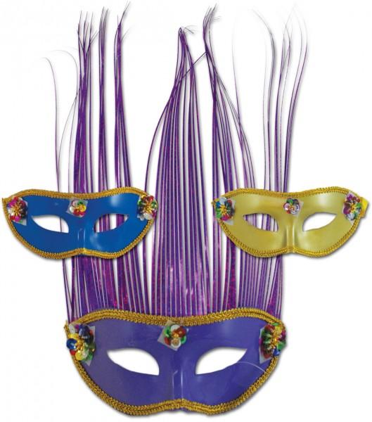 Faschingsmasken mit Schweif