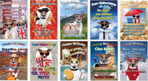 QlovesD Geburtstagskarte Humor #1