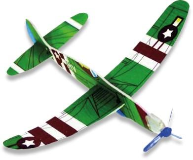 Styroporflieger Flugzeug
