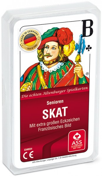 ASS Senioren Skat-Karten
