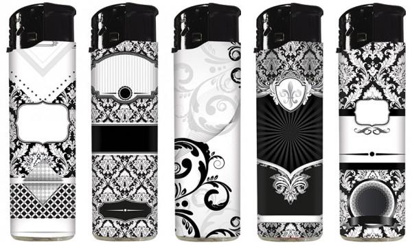 B!FLAME Premium Feuerzeug Black & White #2
