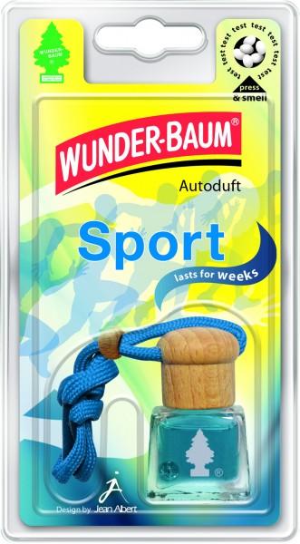 Wunderbaum Auto-Duftflakon Sport