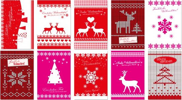 QlovesD Weihnachtskarte Rentiere