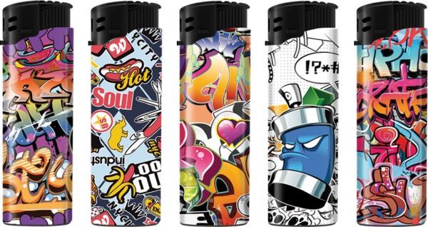 B!FLAME Sturmfeuerzeug Graffiti