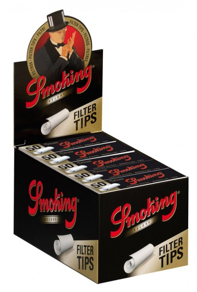 Smoking Deluxe Tips Medium Size