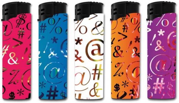 B!FLAME Premium Feuerzeug Laser Signs & Types