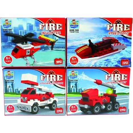 Baustein-Set Feuerwehr