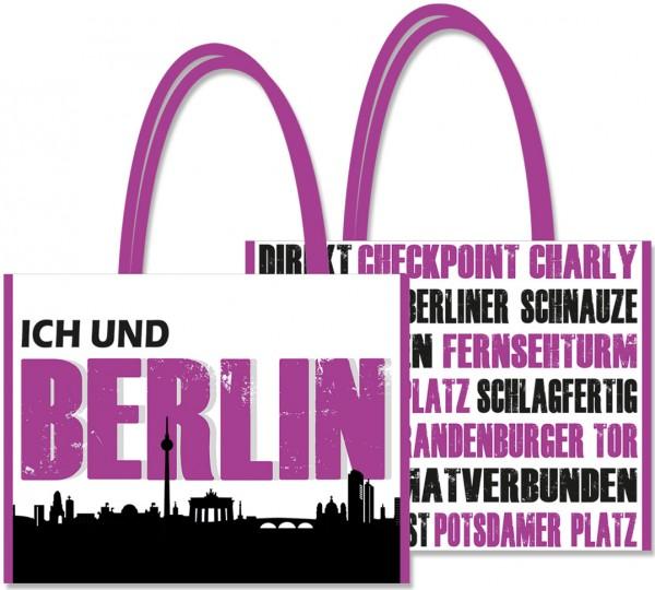 """Shopping-Bag """"Ich und... Berlin"""""""