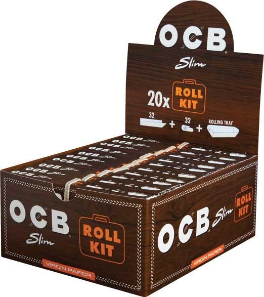 OCB Unbleached Roll-Kit