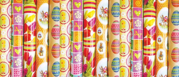 Geschenkpapier Frühjahr/Ostern
