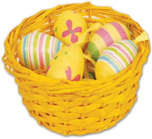Osterkörbchen mit Eiern