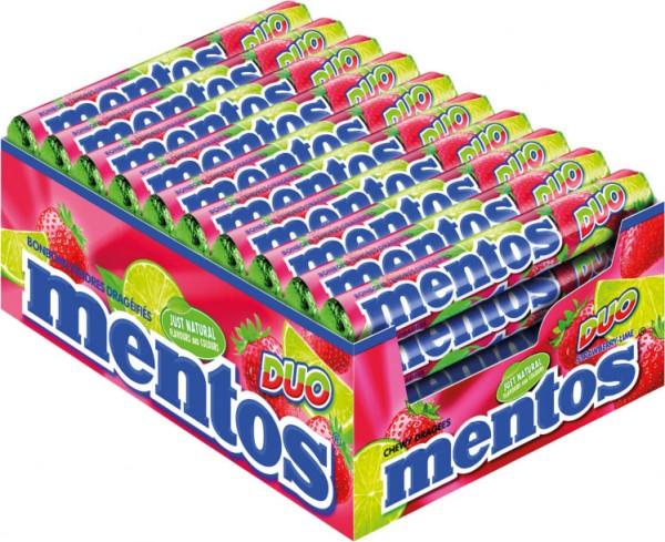 Mentos Duo Erdbeere-Limette