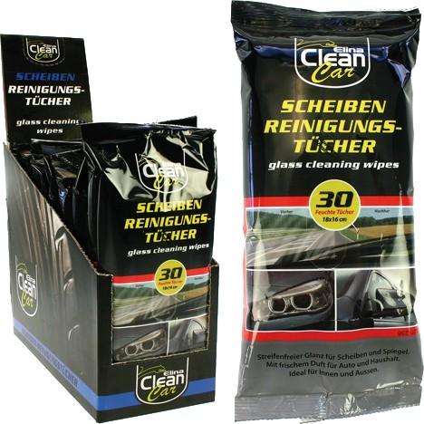 Auto-Glasreinigungstücher