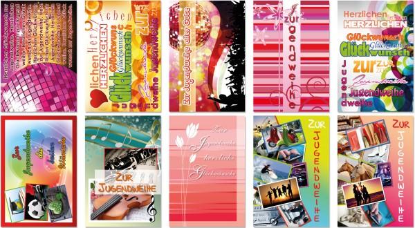 QlovesD Jugendweihekarte