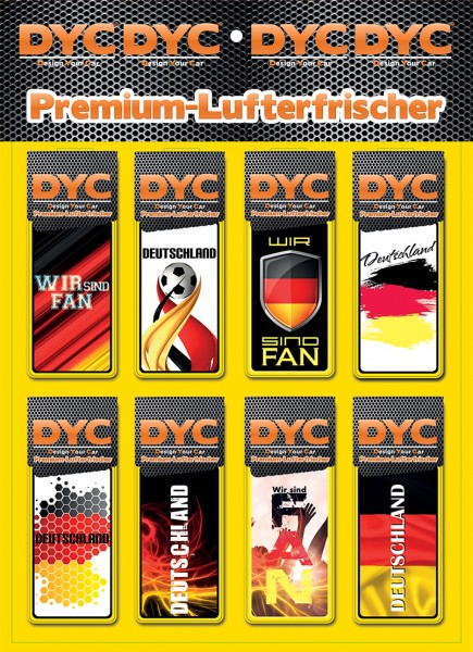 DYC Lufterfrischer Wir sind Fan