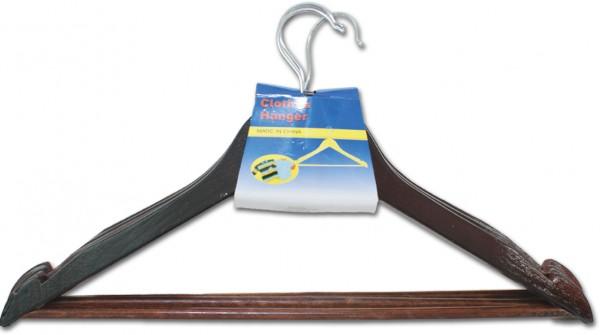 Holz-Kleiderbügel Set Braun