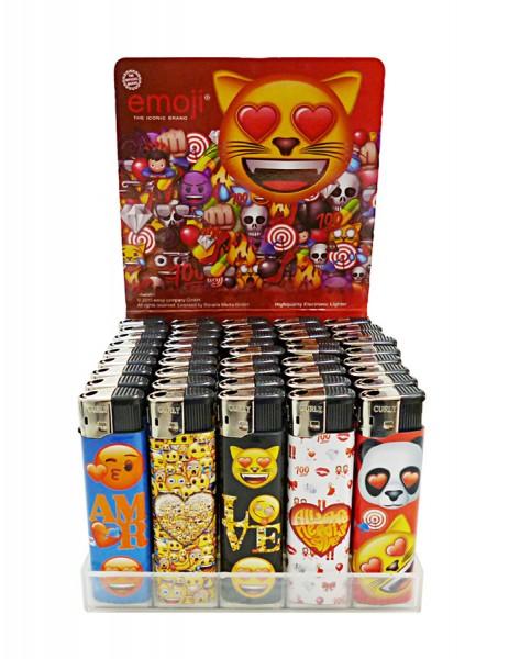 Emoji Motiv-Feuerzeuge