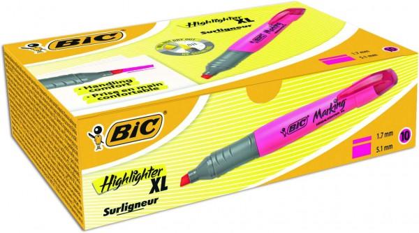BIC XL Textmarker Pink