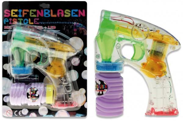 Seifenblasen-Pistole mit LED-Licht